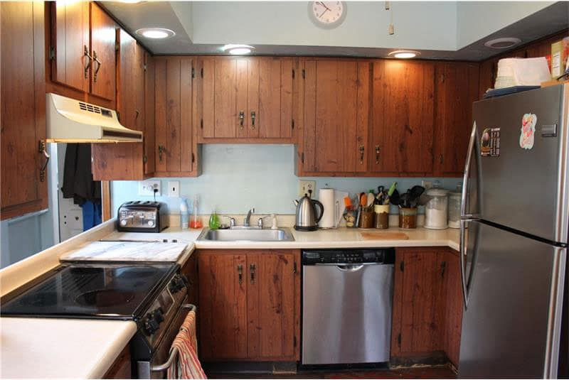 Rosslyn Farms PA 203k kitchen renovation before