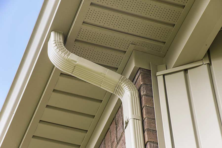 seamless gutters and downspout installation - Butler - Pittsburgh