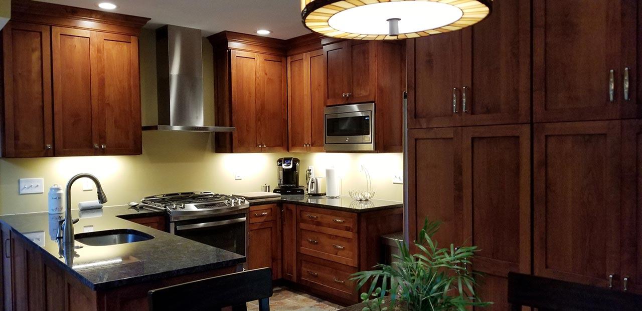 Rosslyn Farms PA 203k kitchen renovation after